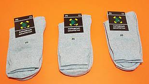 Мужские носки Харкiвськi Шкарпетки Комплект высокие серые