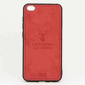 Чехол Deer для Xiaomi Redmi GO бампер накладка Красный