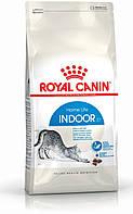 Сухой корм Royal Canin Indoor 27 (ИНДУР) сухой корм для взрослых кошек до 7 лет 0,4 КГ