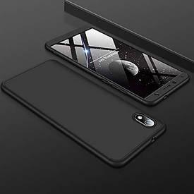 Чехол GKK 360 для Xiaomi Redmi 7A бампер противоударный Black