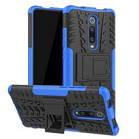 Чехол Armor для Xiaomi Mi 9T / Redmi K20 противоударный бампер Blue