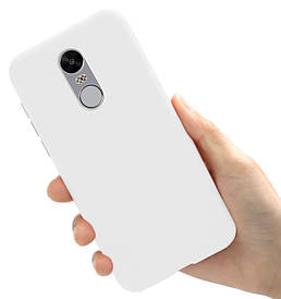 Чехол Style для Xiaomi Redmi Note 4X / Note 4 Global Version Бампер силиконовый Белый