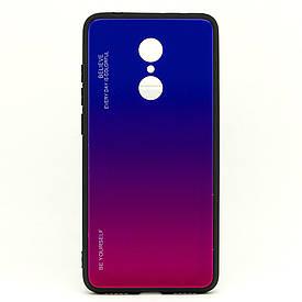 "Чехол Gradient для Xiaomi Redmi 5 Plus (5.99"") бампер накладка Purple-Rose"