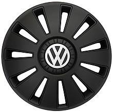 """Колпак Колесный """"REX"""" с логотипом VW Volkswagen 16"""" черный"""