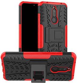 Чехол Armor для Xiaomi Redmi 8 бампер противоударный оригинальный красный