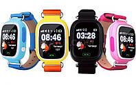 Детские Смарт-часы  UWatch Q90 GPS контроль звонки сообщения SOS Wi-Fi(видео обзор)