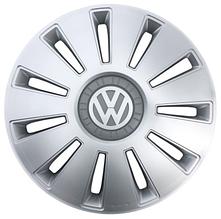 """Колпак Колесный """"REX"""" с логотипом VW Volkswagen 16"""" серый"""