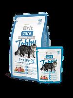 Сухой корм Brit Care TOBBY для кошек крупных пород с курицей и уткой 2 КГ