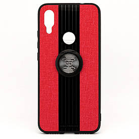 Чехол X-Line для Xiaomi Redmi 7 бампер накладка с подставкой Red