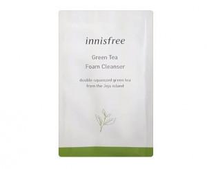 Innisfree Очищающая пенка Пробник Green Tea Foam Cleancer 3ml