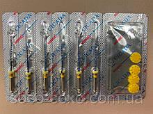 Файлы CICADA Niti Endodontic files Blue 04/20  набор, 25 мм, 6 шт./упак.