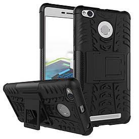 Чехол Armor для Xiaomi Redmi 3s / 3 pro Противоударный Бампер черный