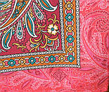 Зимовий ранок 776-3, павлопосадский хустку на голову бавовняний (саржа) з подрубкой, фото 3