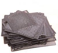 Набор из 60 BGA трафаретов для ремонта ноутбуков