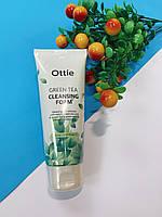 Увлажняющая пенка для лица с экстрактом зеленого чая Green Tea Cleansing Foam Ottie - 150 мл