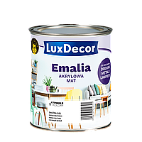 Эмаль Акриловая LuxDecor матовая 0,75л Светло серый (светло серая)