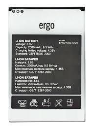 Аккумулятор АКБ для Ergo A502 Aurum (Li-ion 3.8V 2500mAh) Оригинал Китай