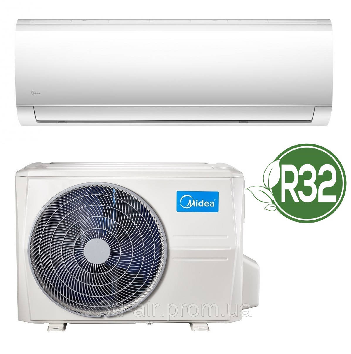 Кондиционер Midea Blanc DС Inverter R32 MA-24N8DOHI-I/MA-24N8DOH-O