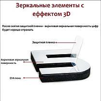 Настенные 3D часы от 60 до 90 см (ZH528-S), фото 3