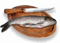 Как быстрее всего почистить рыбу.