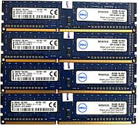 Комплект оперативной памяти Kingston DDR3 8Gb (4*2Gb) 1600MHz PC3 12800U 1R8 CL11 (KGDN7X-HYC) Б/У, фото 1