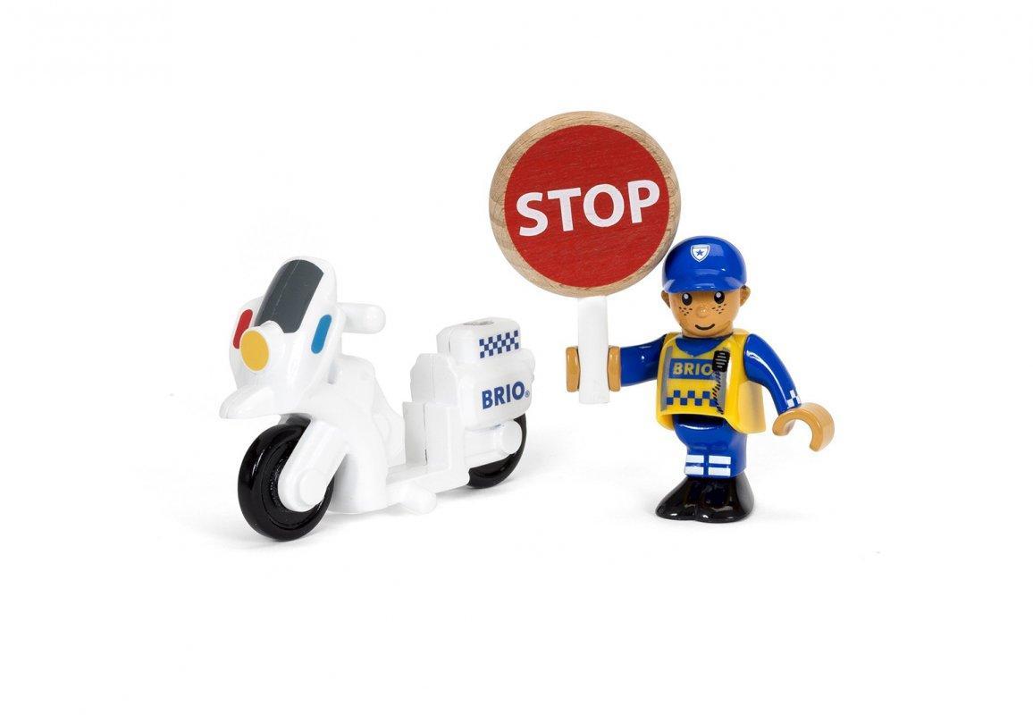 BRIO Полицейский мотоцикл 33861