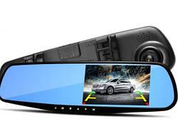 Зеркало-видеорегистратор с камерой заднего вида DL-65
