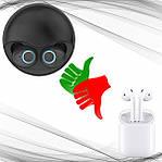 Беспроводные наушники Wi pods K10 блютуз наушники  bluetooth 5.0  наушники с микрофоном Черные, фото 4