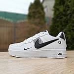 Чоловічі кросівки Nike Air Force 1 LV8 (біло-чорні) 10010, фото 7