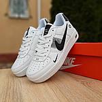 Чоловічі кросівки Nike Air Force 1 LV8 (біло-чорні) 10010, фото 6