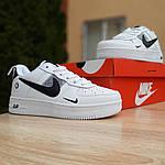 Чоловічі кросівки Nike Air Force 1 LV8 (біло-чорні) 10010, фото 8