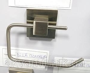 Держатель туалетной бумаги NORD без крышки настенный Польша (нерж. сталь)