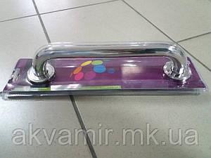 Поручень для ванны средний Bisk (нерж. сталь) цвет хром