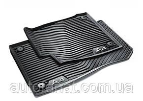Оригинальные передние коврики в салон Audi A4 (B9) (8W1061501041)