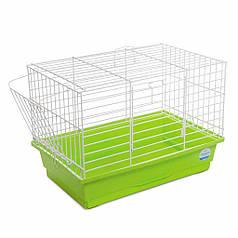 """Клетка Природа """"Кролик мини""""  44*27*30 см (для грызунов, зеленая)"""