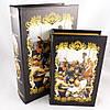 Скринька у вигляді книги Запорожці велика