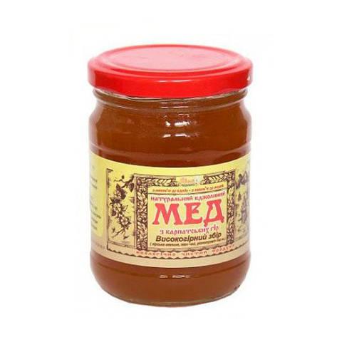 """Мед пчелиный натуральный, сорт: """"Высокогорный сбор"""" 600г, фото 2"""
