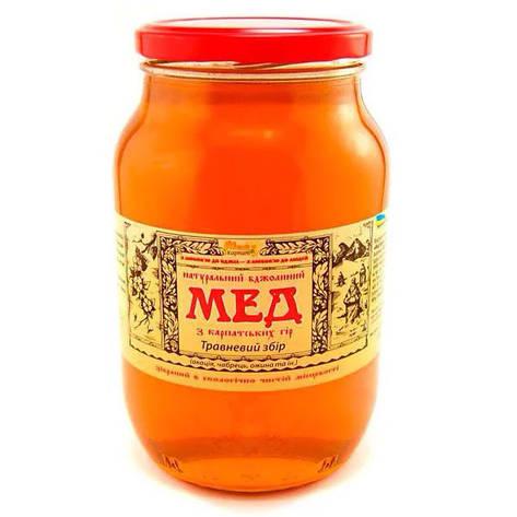 """Мед пчелиный натуральный, сорт: """"Майский сбор"""" 1350 г, фото 2"""