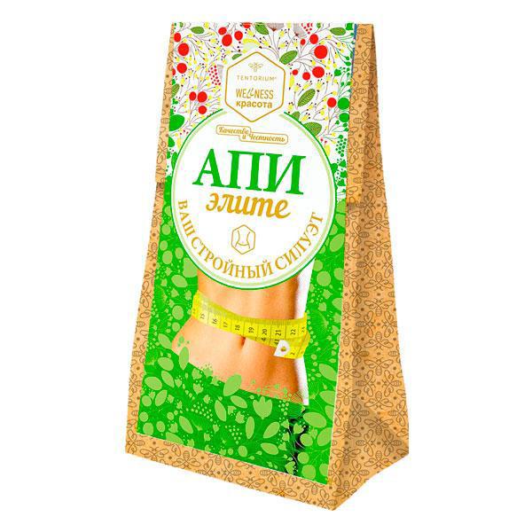 Зелений чай з рослинними екстрактами «АпиЭлите» (100 г)
