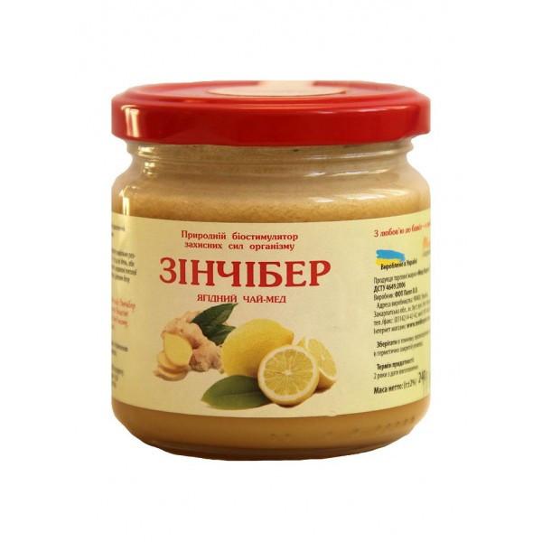 """Чай-мёд """"Зинчибер"""" 240 г"""