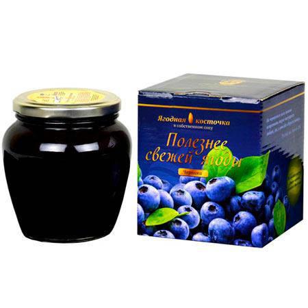 Черничная паста LiQberry 550 г., фото 2