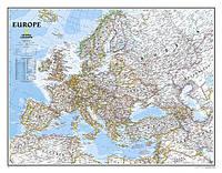 Карта Европы 100см x 130см