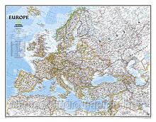 Політична мапа Европи 100см x 77см