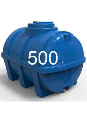 Емкость пластиковая горизонтальная объем 500 литров.