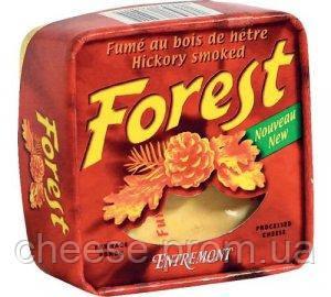 Сыр сливочный копчений Форест 42% 125г Entremont
