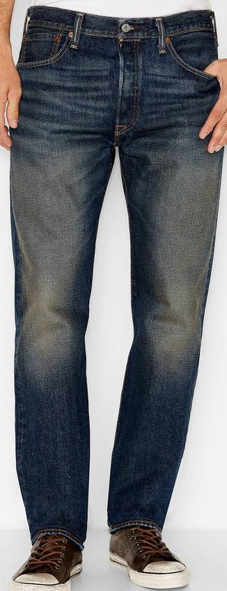 Джинсы Levis 501 - Rusted Rivet (36W x 34L)