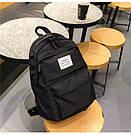 Рюкзак набор женский 3 в 1 ( клатч, пенал) чёрный. (AV237), фото 3