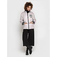 Приталенная стеганная женская куртка весна-осень