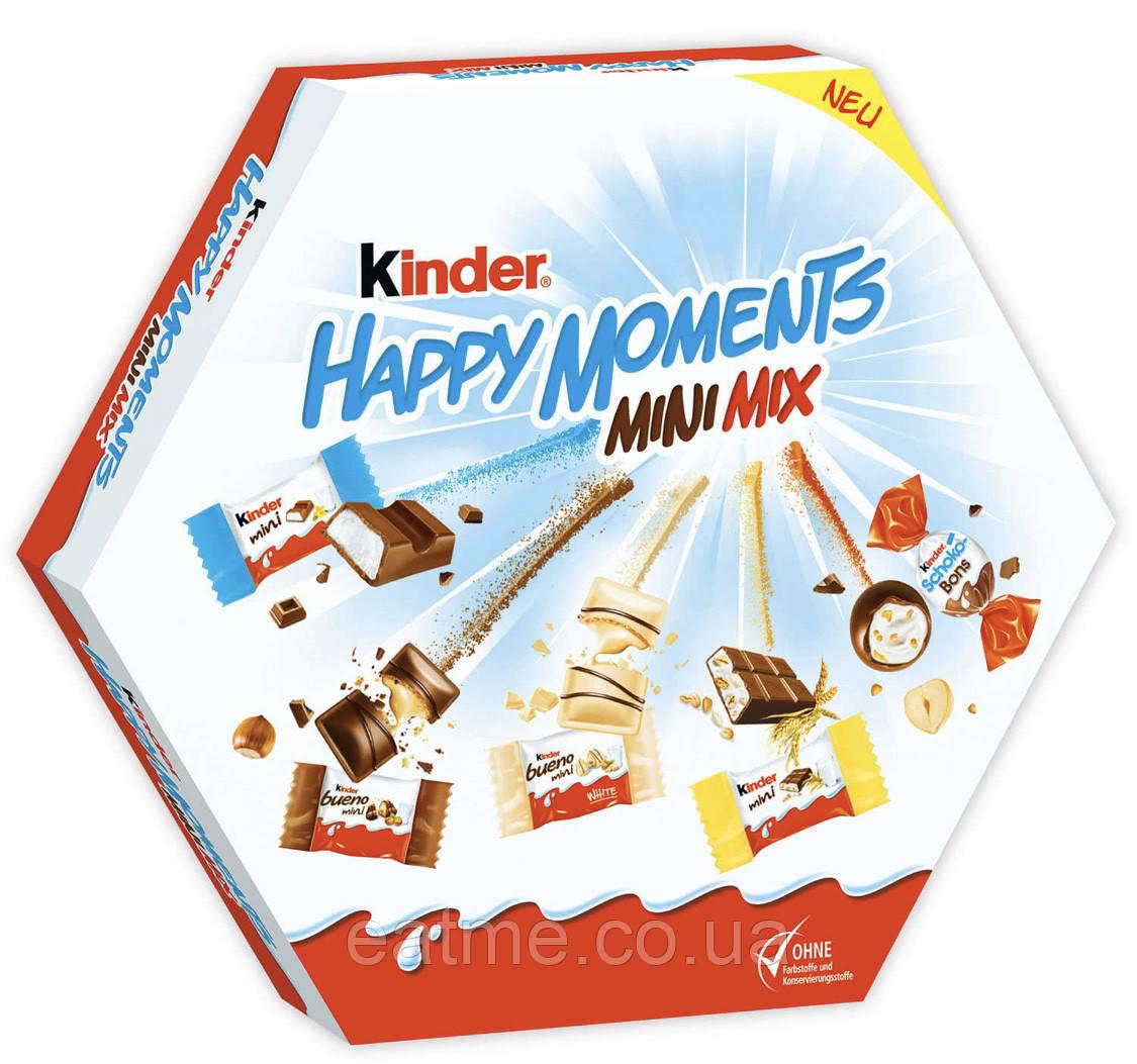 Kinder happy moments mini mix Микс из 5 видов Конфет