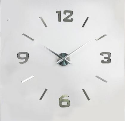 Настенные 3D часы от 60 до 90 см (ZH528-S)
